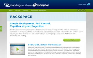 Standing Cloud Powered By Rackspace